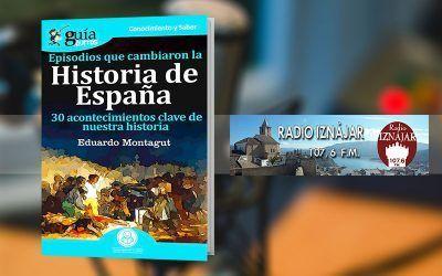 Eduardo Montagut habla de la Historia de España en Radio Iznájar